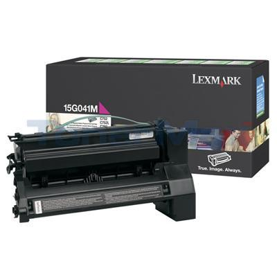 LEXMARK C752 RP PRINT CART MAGENTA 6K